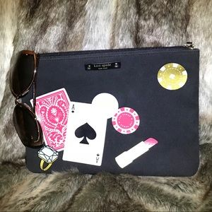 Kate Spade Play The wild Card Gia clutch